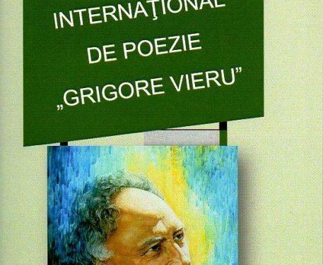 """Festivalul Internaţional de Poezie """"Grigore Vieru"""" la a XI-a ediție"""