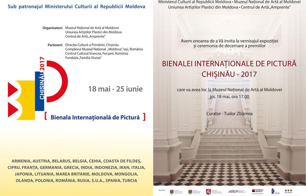 Bienala Internaţională de Pictură, Chişinău 2017, ediţia a V-a @ Muzeul Naţional de Artă al Moldovei