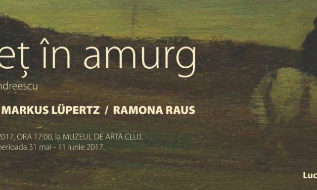 """Celebrând """"Călăreț în amurg"""" – In memoriam Ion Andreescu. Ioan Sbarciu, Markus Lupertz si Ramona Raus @ Muzeul de Arta Cluj-Napoca"""