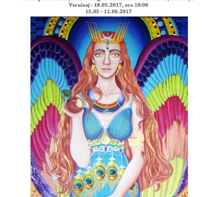 """Elena Andrei """"Țesătura mistică"""" @ Metropolis Art Collection, București"""