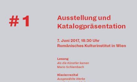 Expoziţia Formele realităţii # 1 la Galeria ICR Viena