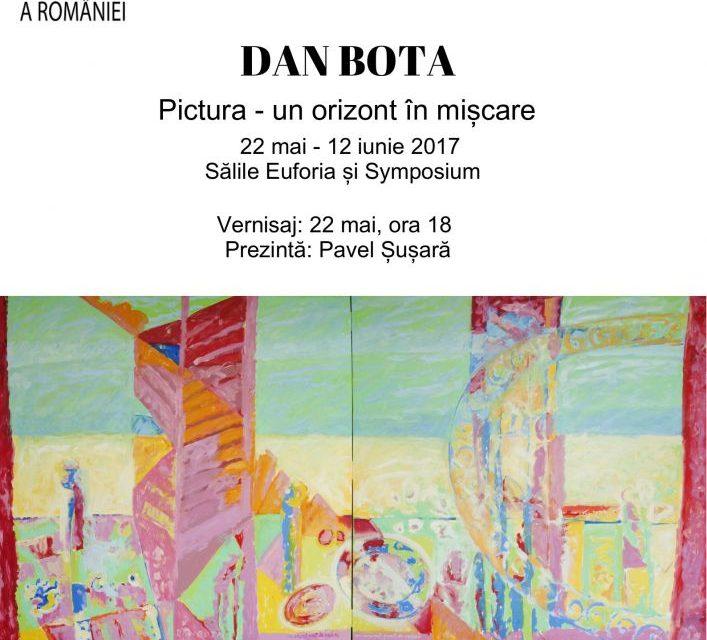 Expoziția Dan Bota: Pictura – un orizont în mișcare @ Biblioteca Naţională a României