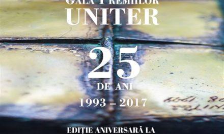 Laureaţii Galei Premiilor UNITER 2017  Ediţia a XXV-a