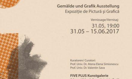 """Expoziţia """"Interferenţe"""" la FIVE PLUS Art Gallery din Viena"""