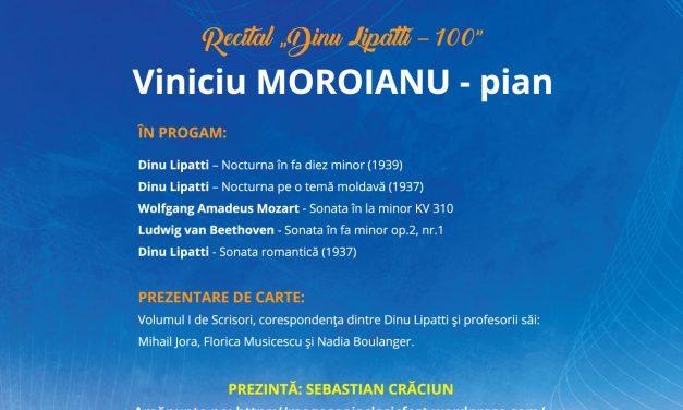 Dinu Lipatti – 100 …la Mogoşoaia ClasicFest ediţia a VI-a