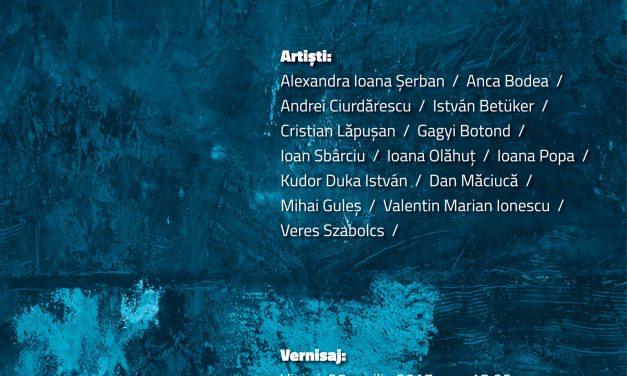 Painting / Now – expoziția departamentului de pictură al UAD Cluj-Napoca la Bistrița