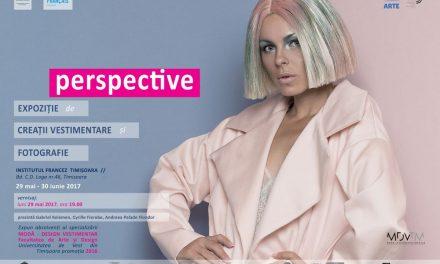 """Expoziția """"Perspective"""" (fotografie și creații vestimentare) @ Institutul Francez Timișoara"""