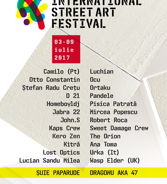 Sibiu International Street ART Festival 2017, ediția a III-a