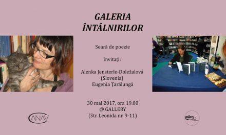 Alenka Jensterle-Doležalová (Slovenia) și Eugenia Țarălungă @ Galeria Întâlnirilor