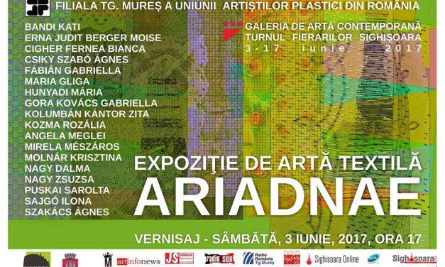 ARIADNAE Expoziție de artă textilă @ Turnul Fierarilor Sighişoara