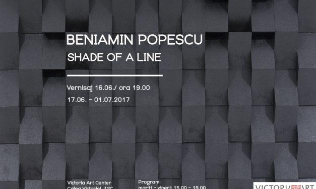 """Beniamin Popescu, """"Shade of a line"""" @ Victoria Art Center"""