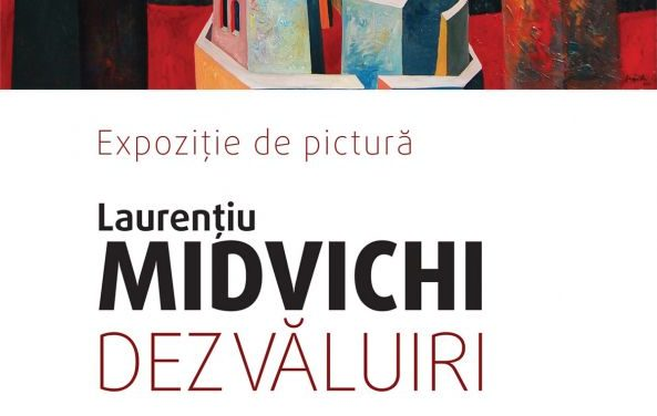 """Expoziția de pictură """"Dezvăluiri"""" de Laurențiu Midvichi @ Centrul Cultural pentru Unesco Nicolae Balcescu, București"""