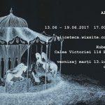 """Alice Țeca """"Den"""" expoziție de desen@ Kube Musette, București"""