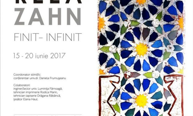 "Andreea Zahn ""Finit-Infinit"" @ Art Yourself Gallery, București"