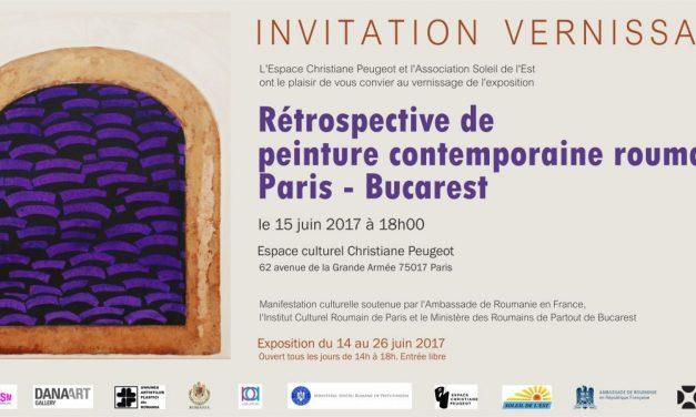 Retrospectivă de pictură contemporană română Paris – București