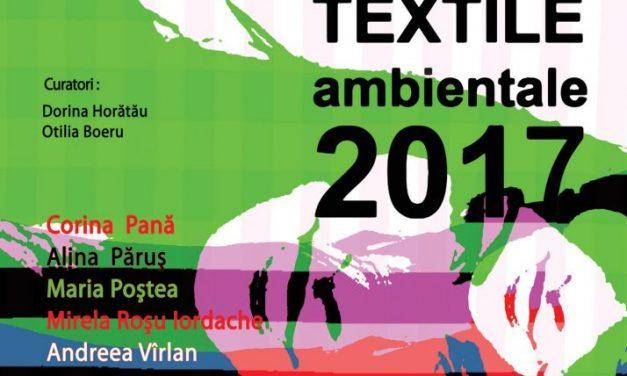 Master Arte Textile Ambientale 2017 @ Muzeul Naţional al Ţăranului Român