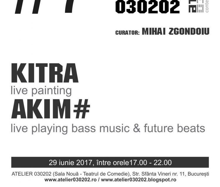 GOLDEN FRAME#7 cu Kitra & Akim# @ Atelier 030202, București