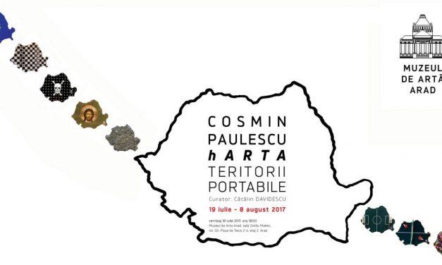 """Cosmin Paulescu, """"hARTA. Teritorii portabile"""" @ Muzeul de Artă Arad"""