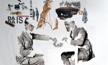 Tzara și Lenin jucând șah: aniversarea a două revoluții culturale
