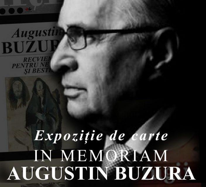 Expoziție IN MEMORIAM Augustin Buzura la ICR