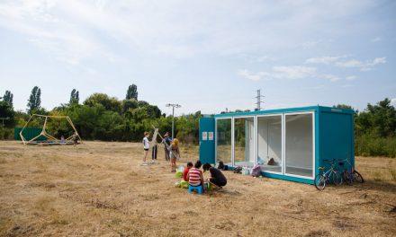Inaugurarea pavilionului FabHub în Parcul Feroviarilor, Cluj-Napoca
