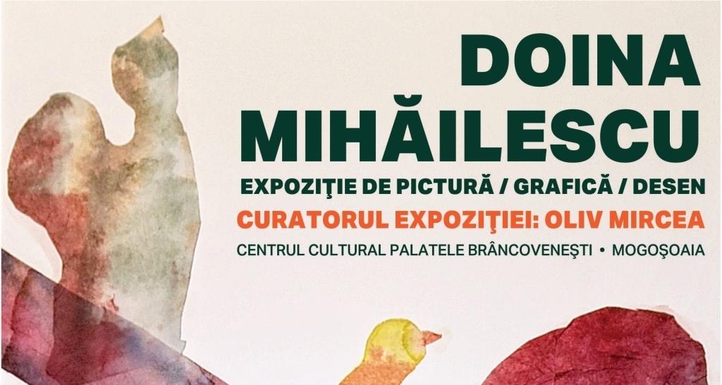 """Doina Mihăilescu """"Vecernii de ambră și de aur stins"""" @ Palatele Mogoșoaia"""