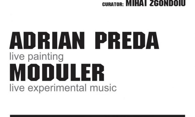 GOLDEN FRAME#8 / Adrian Preda & Moduler @ Atelier 030202, București