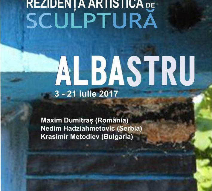 """Rezidența artistică de sculptură """"Albastru"""" @  Centrul de Cultură """"George Apostu"""""""