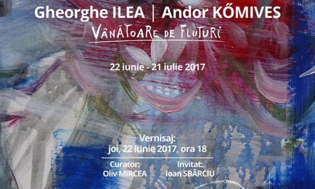 Gheorghe ILEA &  Andor KÖMIVES – Vânătoare de fluturi @ ARCADE, Bistrița