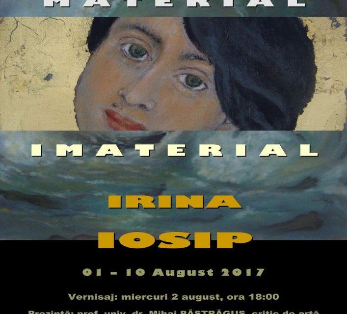 """Irina Iosip """"Material-Imaterial"""", expoziție de pictură @ Galeria de Artă """"N. Tonitza"""", Iași"""