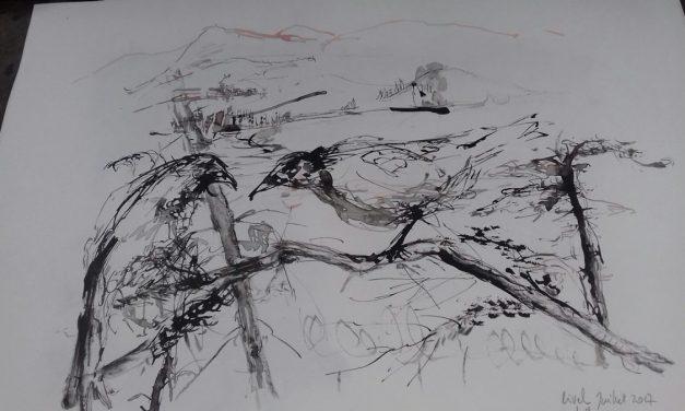 """""""Privire din cer""""/ """"A vol d'oiseau"""" – tabara de creație @ Le Moulin de l'Eveque, Franța"""
