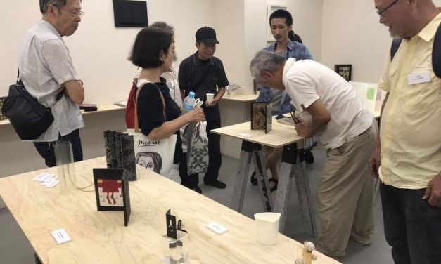 Vernisaj – EUROPEAN BOOKART BIENNALE COLLECTION -TOKYO, JAPAN