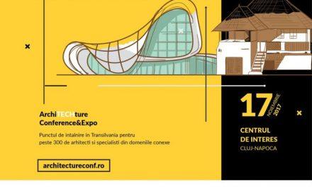 De la orașele inteligente, la geometria satului– ArchiTECHture Conference&Expo 2017