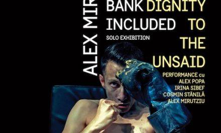 Alex Mirutziu prezintă o expoziție personală și un performance la BIDFF 2017