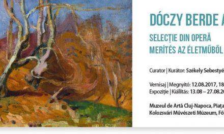 """Expoziția """"Dóczy Berde Amál – Selecție din operă"""" @ Muzeul de Artă Cluj-Napoca"""