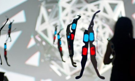 """László Zsolt BORDOS """"SPIDRON INSTALAȚIE STEREO 3D OBJECT MAPPING"""" @ Spațiul Expozițional de Artă Contemporană MAGMA, Sfântu Gheorghe"""