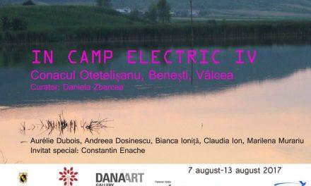 """Rezidența """"În câmp electric"""" ediția a IV-a, 2017 @ Conacul Otetelișanu"""