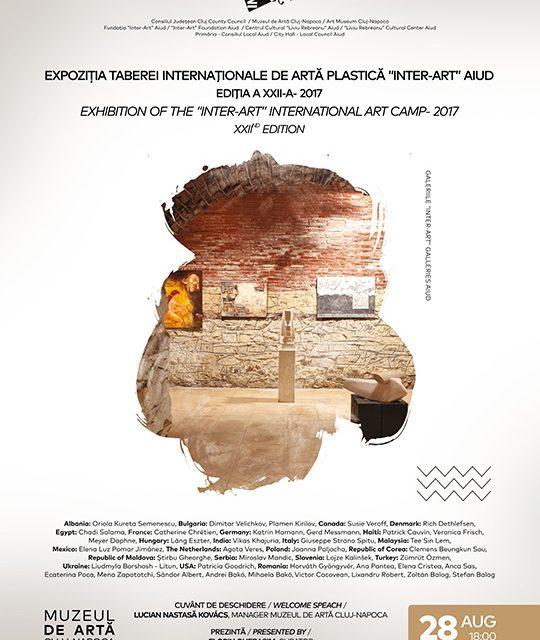 Tabăra Internațională de Artă Plastică Inter-Art Aiud 2017 @ Muzeul de Artă Cluj-Napoca