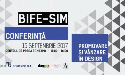 Conferinţa de Design @ BIFE- SIM- Târg internaţional de mobilă