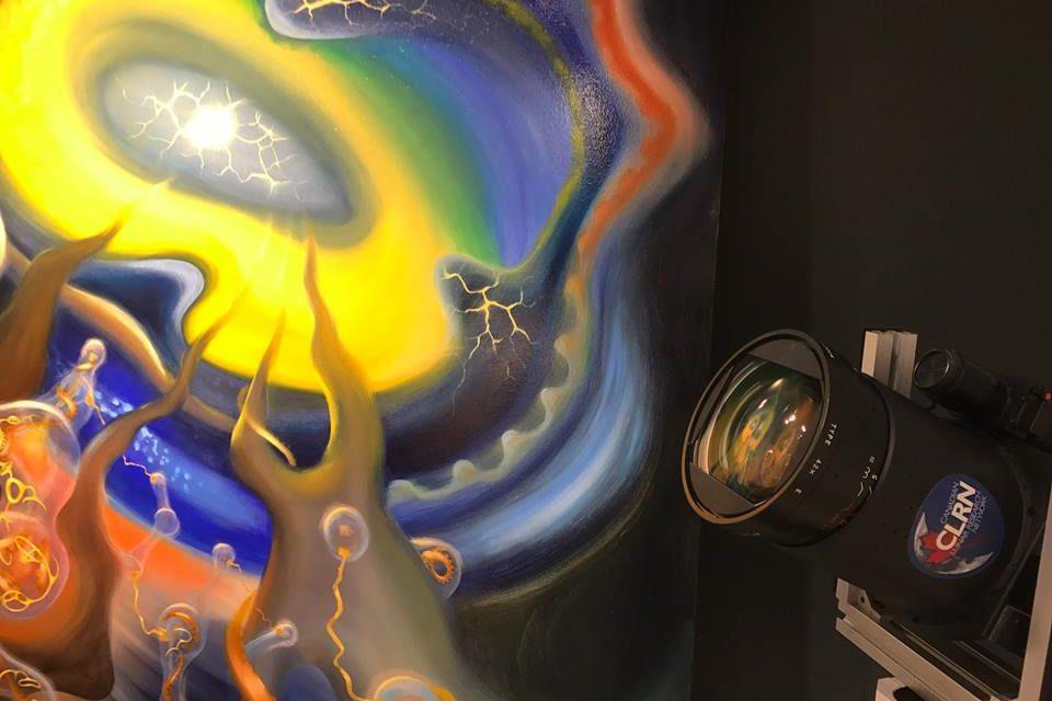 Florin-Eugen Zamfirescu – The Universe Vibrates @ Teodora ART Gallery, Toronto, Canada