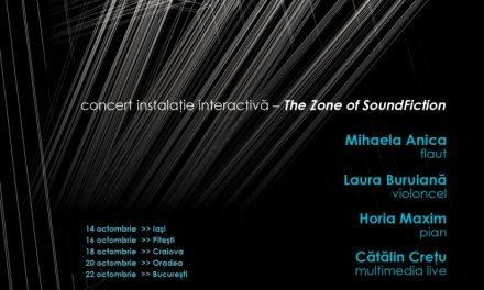 Cinci orașe. Patru artiști internaționali. Zona Imaginarium