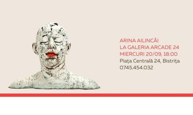 Arina Ailincai, expoziție de Ceramică Sculpturală Figurativă @ Galeria ARCADE 24, Bistrița