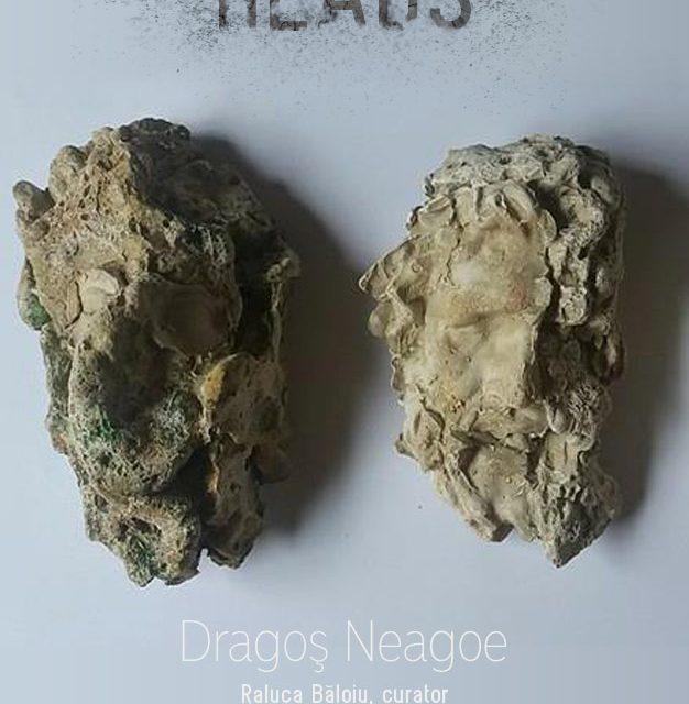"""Dragoș Neagoe """"HEADS"""" @ Galeriile Carol, București"""