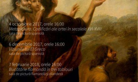 Incursiuni în Galeria de Artă Europeană. Serie de conferințe susținute de Cosmin Ungureanu @ Muzeul Național de Artă al României