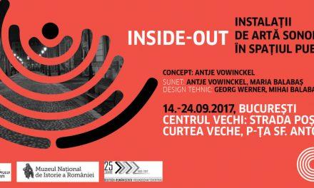 Inside-Out: artă sonoră în spaţiul public