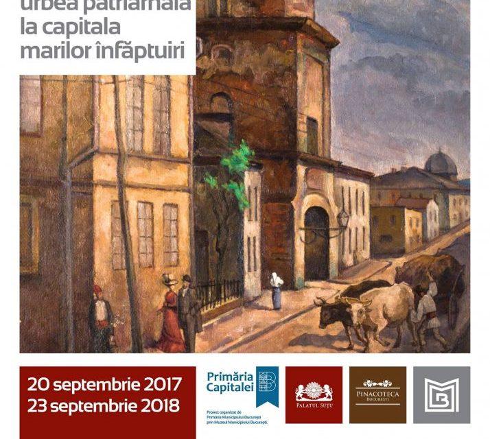 Pinacoteca Bucureștiului: Bucureşti de la urbea patriarhală la capitala marilor înfăptuiri @ Muzeul Municipiului Bucureşti – Palatul Suțu