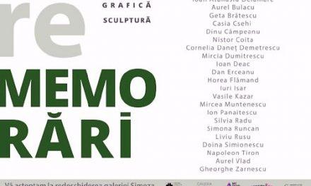 """""""REmemorări"""", expoziție eveniment la Galeria Simeza, București"""