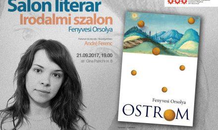 Tineri scriitori maghiari la București – Salon literar cu Fenyvesi Orsolya