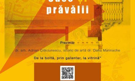 """Conferința """"Arhiva de arhitectură: De la boltă, prin galantar, la vitrină"""" @ Elite Art Gallery, București"""