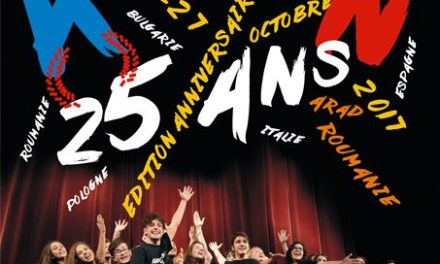 Festivalul Internațional de Teatru Tânăr Francofon AMIFRAN sărbătorește 25 de ani